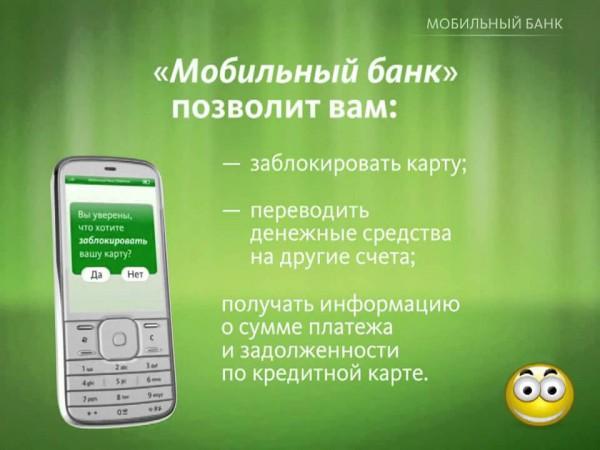Преимущества «Мобильного банка» Сбербанка и руководство по его подключению