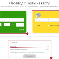 Как перевести деньги с карты Сбербанка на карту Тинькофф банка