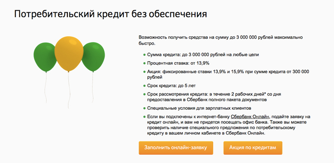 Оформить кредит онлайн, интернет заявка на