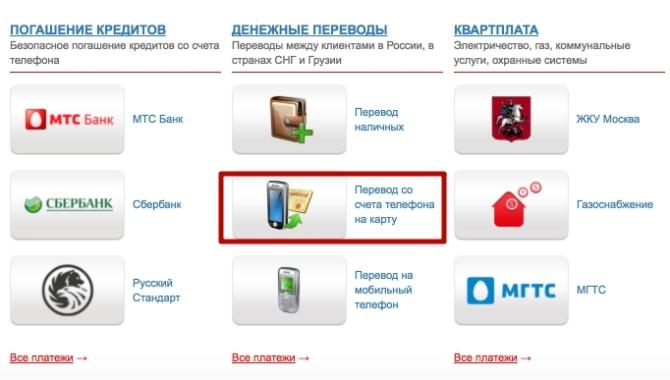 мтс кредит онлайн на карту сбербанка