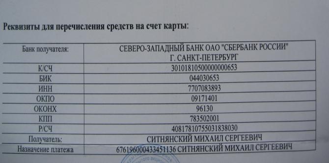 как узнать банковские реквизиты карты сбербанка по номеру карты кредитка без справки о доходах украина